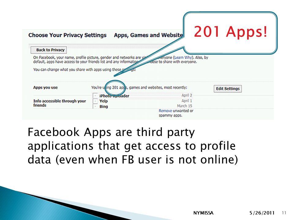 NYMISSA 11 201 Apps.