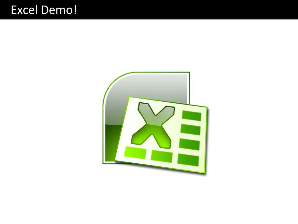 Excel Demo!