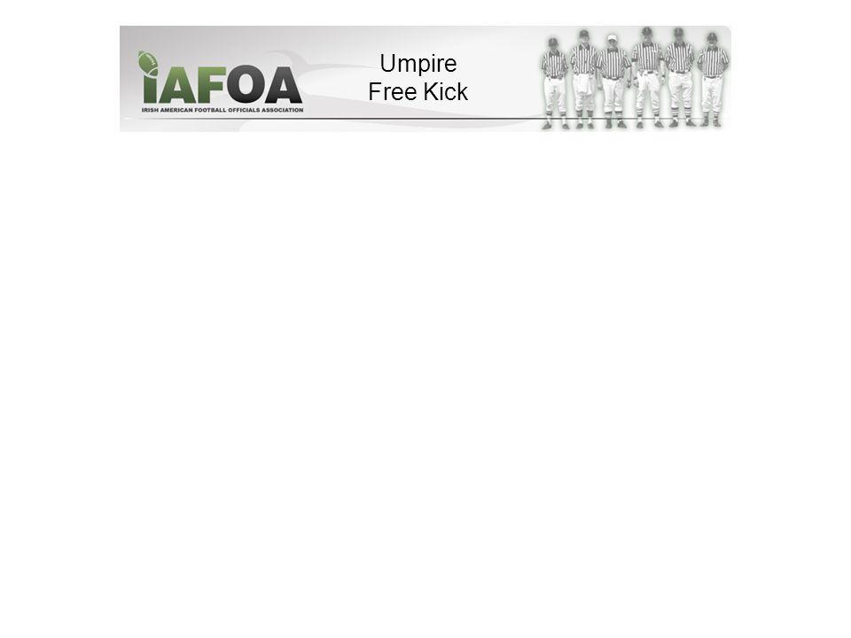 Umpire Free Kick