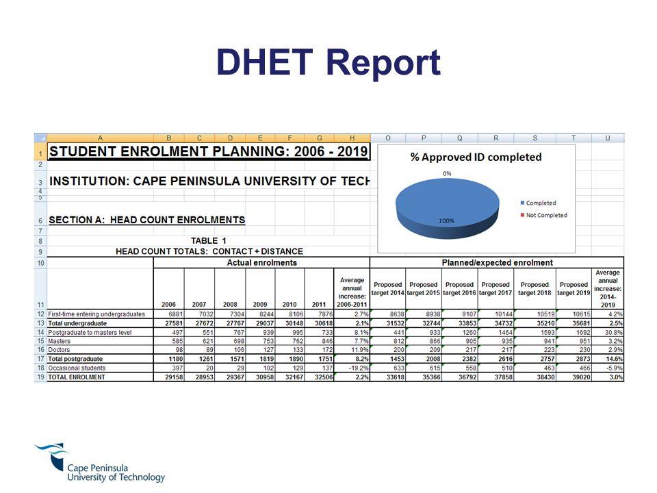 DHET Report