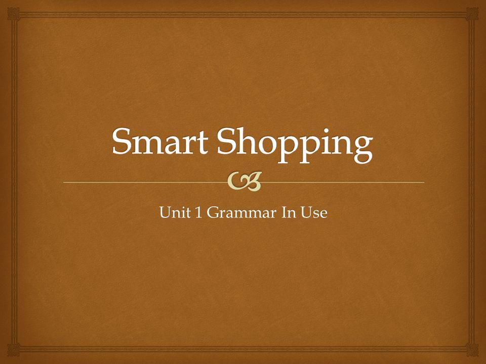 Unit 1 Grammar In Use