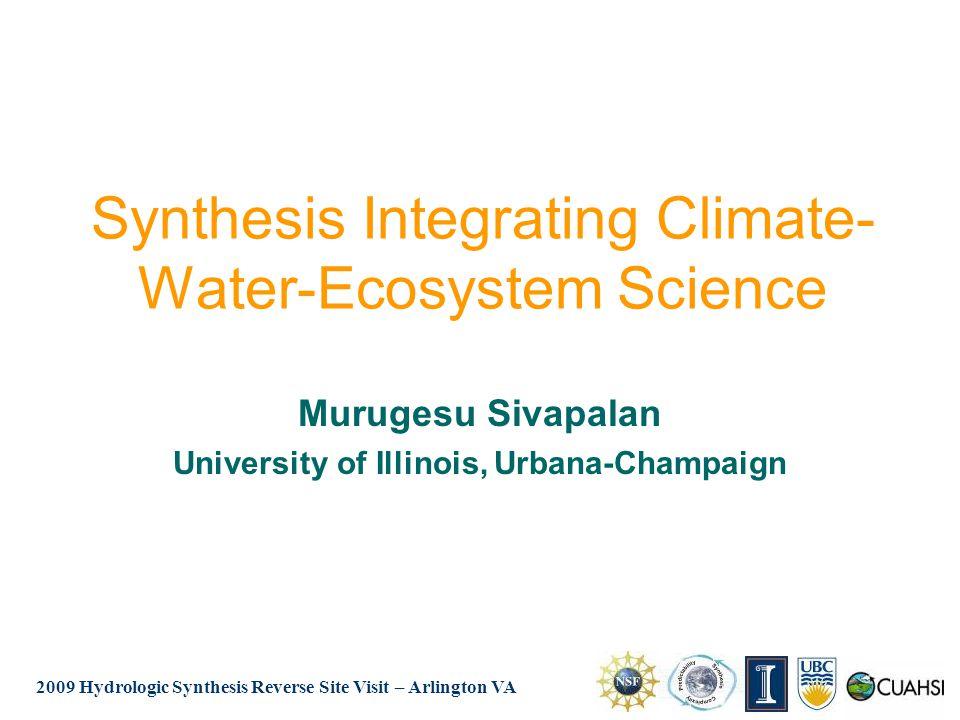 2009 Hydrologic Synthesis Reverse Site Visit – Arlington VA Adding Groundwater Improves Prediction ET (mm/hr) Month