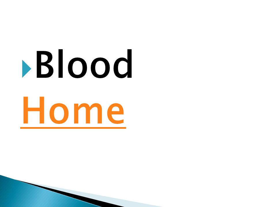  Blood Home