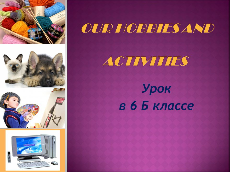 «Hobbies differ like tastes». «Active life and interesting hobbies make you feel happy».