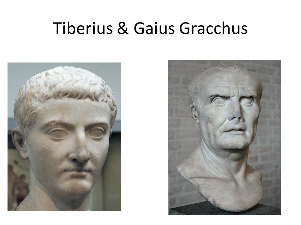 Tiberius & Gaius Gracchus