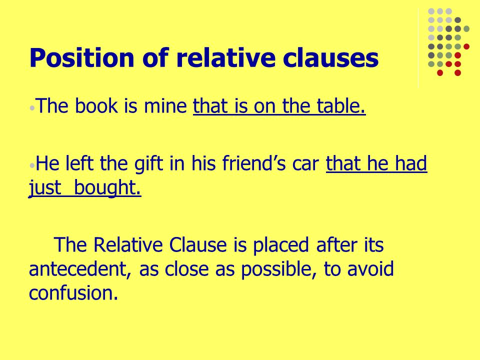 Using where and when in relative clauses Ramadan is the month when devout Muslims fast.