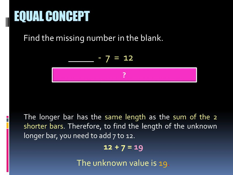 Find the missing number in the blank.