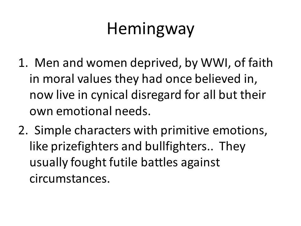 Hemingway 1.