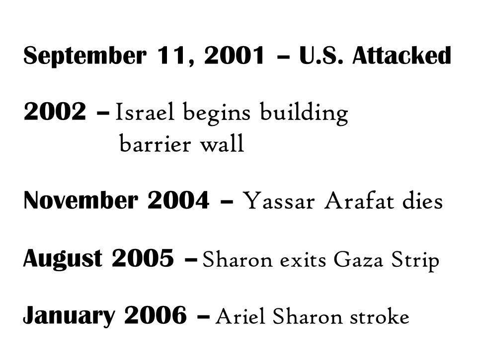 September 11, 2001 – U.S.