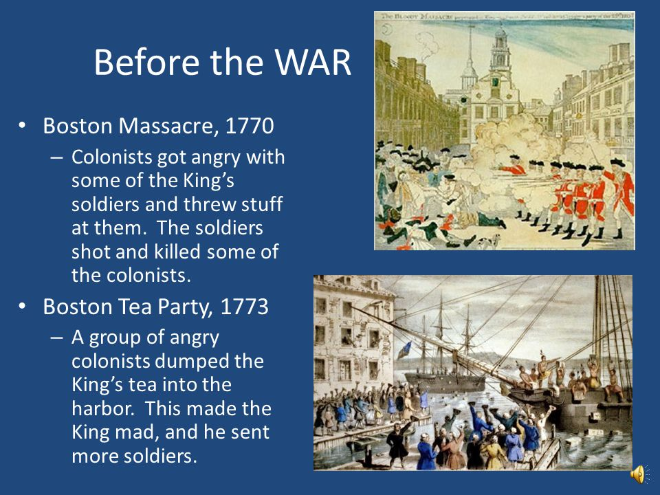 CAUSES of the War NO REPRESENTATION – The colonists were ruled by governors that King George III chose. – The colonists had their own legislature (peo