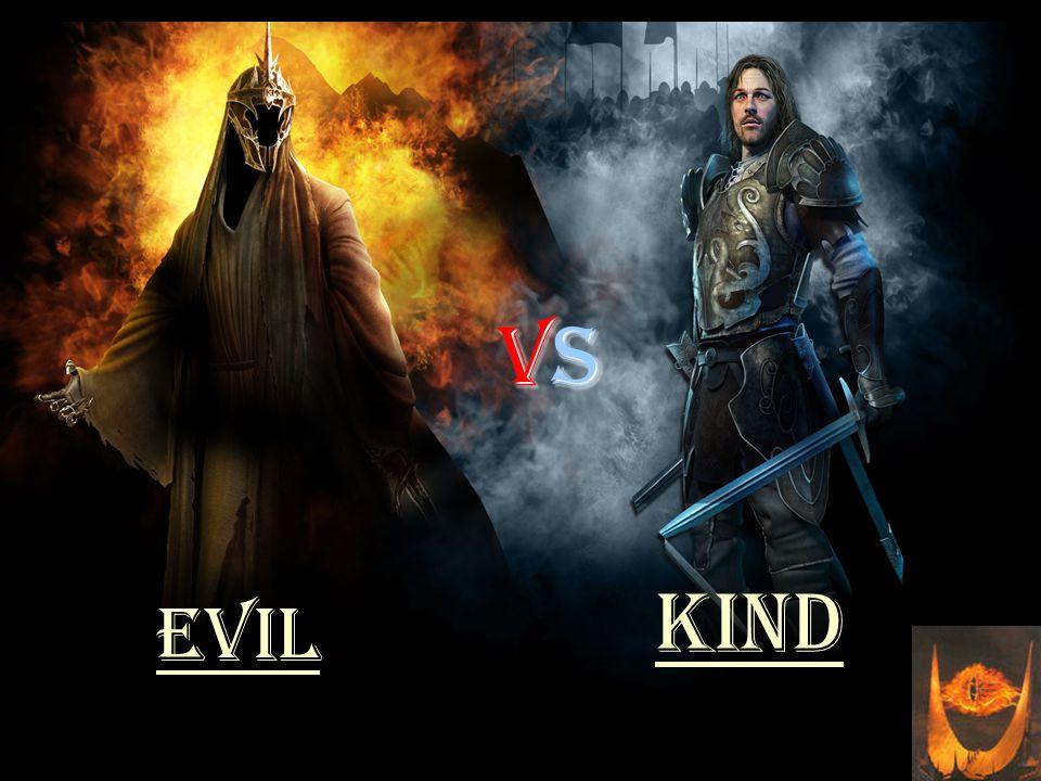 vsvsvsvs Evil kind