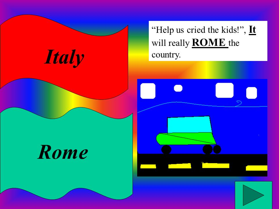 Italy Rome Help us cried the kids! , It will really ROME the country.