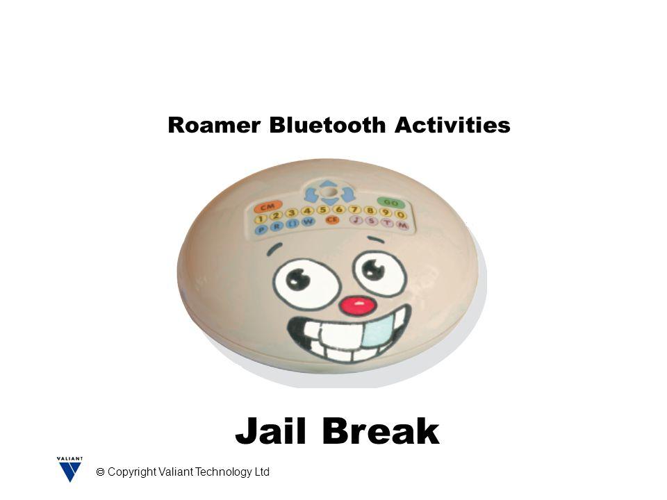 Copyright Valiant Technology Ltd Roamer Bluetooth Activities Jail Break