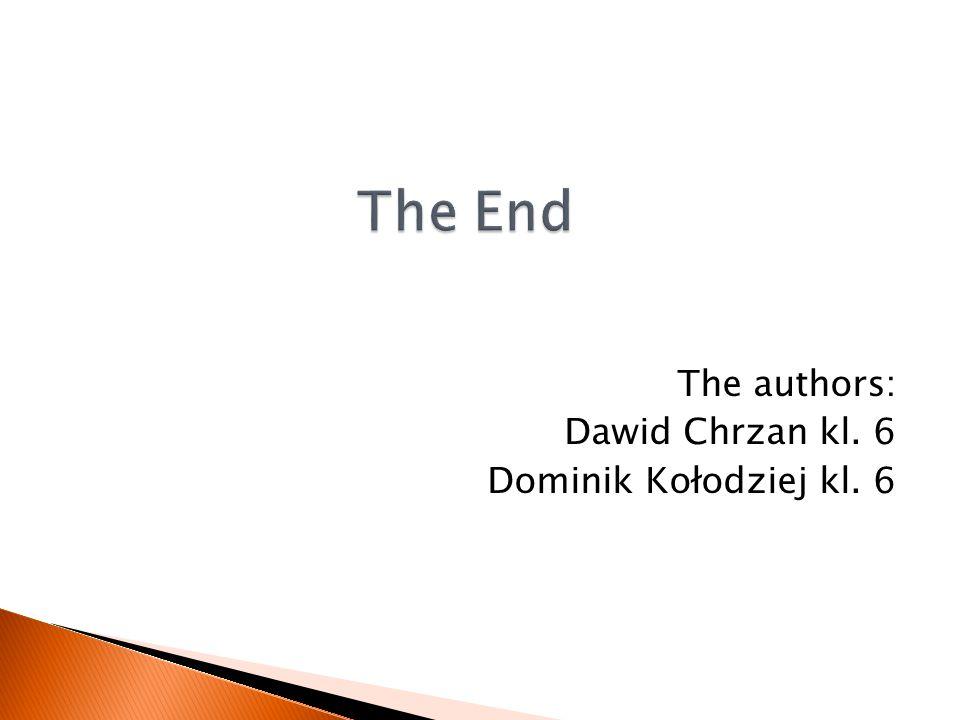 The authors: Dawid Chrzan kl. 6 Dominik Kołodziej kl. 6