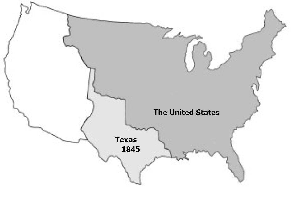 Texas The United States 1845