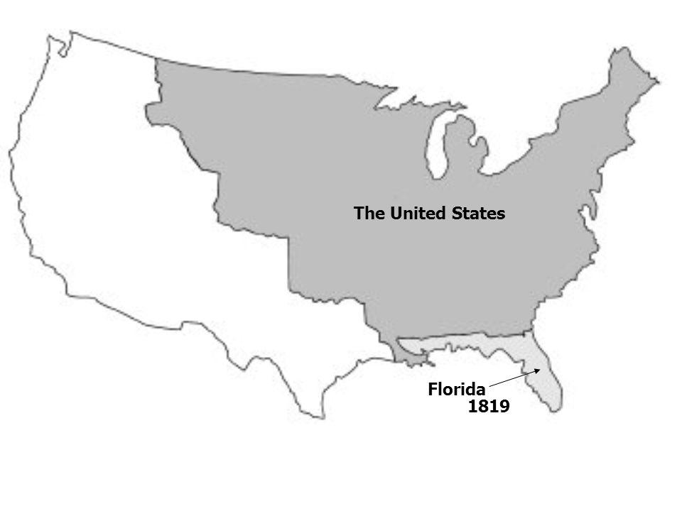 The United States Florida 1819