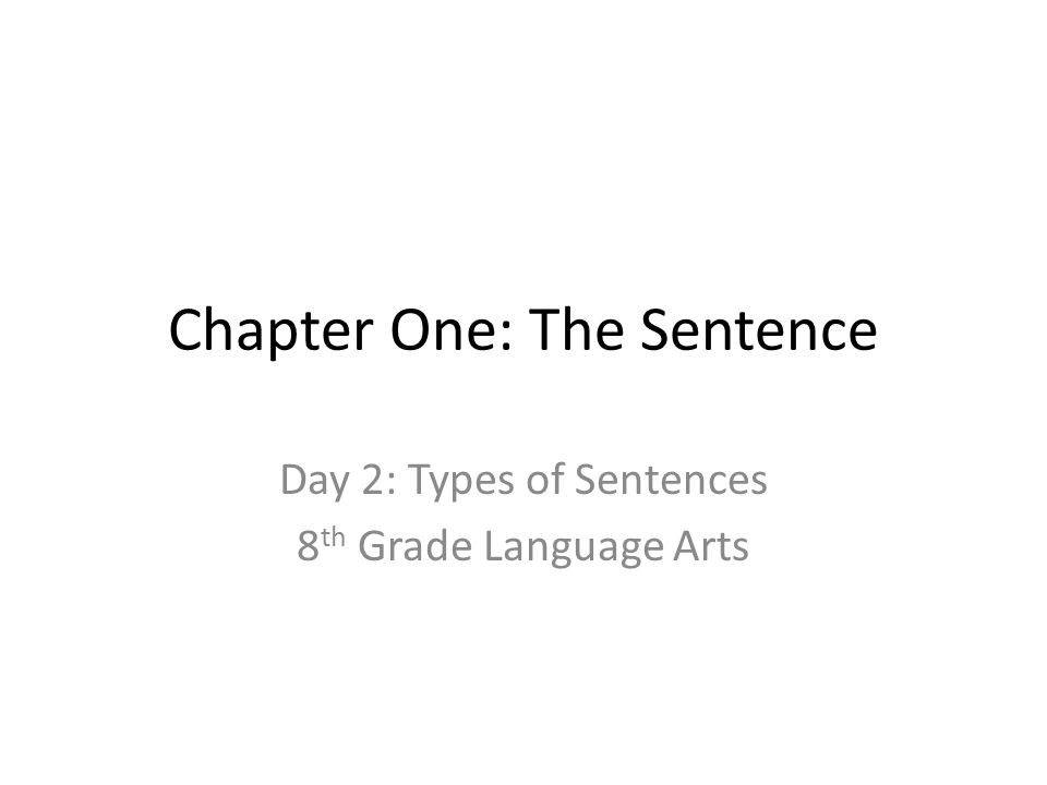 CH 1: Subjects and Predicates9/7/12 The simple subject is the one word that tells you who or what the sentence is about.