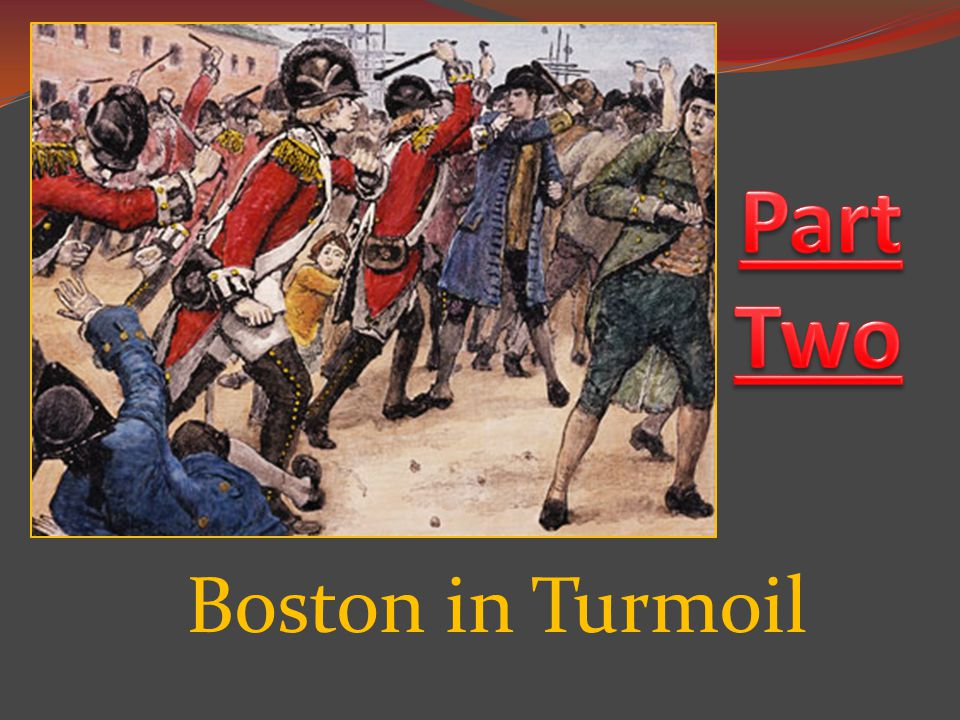 Boston in Turmoil