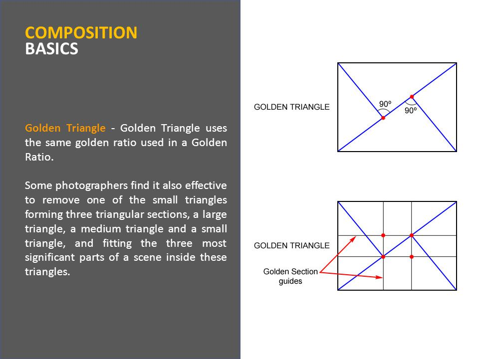 Golden Triangle - Golden Triangle uses the same golden ratio used in a Golden Ratio.