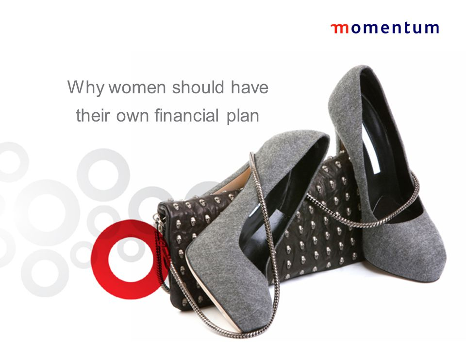 Why women should have their own financial plan