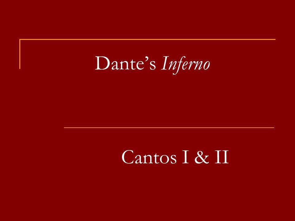 Dante's Inferno Cantos I & II