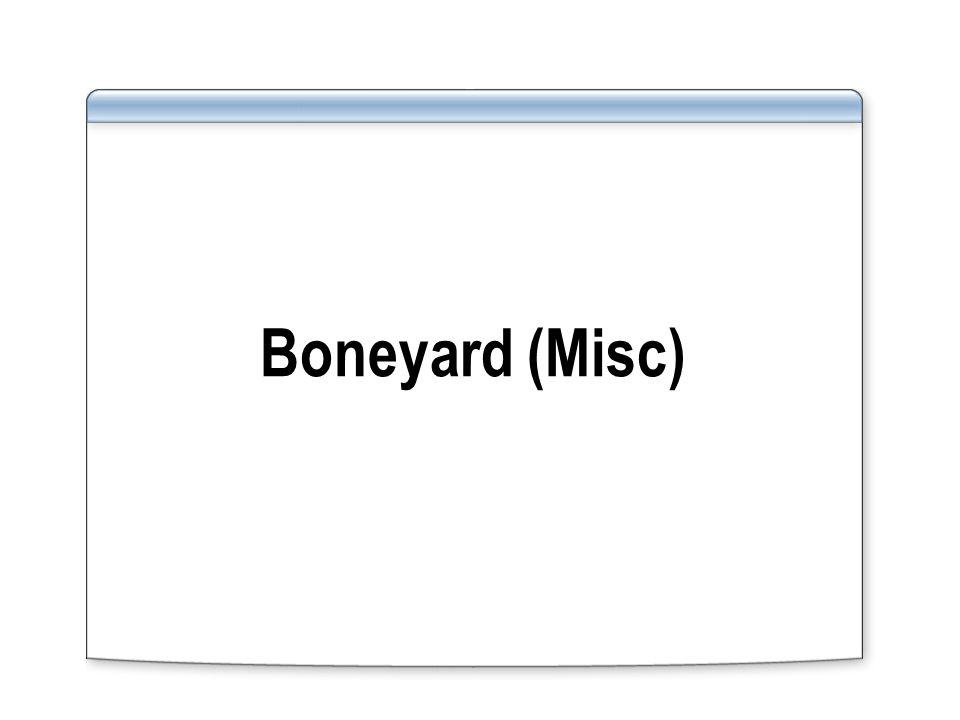 Boneyard (Misc)