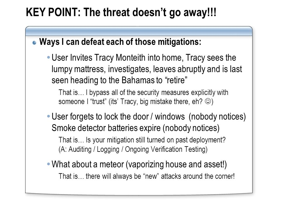 Reproducibility ValueDescription 1 - ComplexThe attack is very difficult to reproduce, even with knowledge of the security hole 2 - ModerateThe attack can be reproduced, but only with a timing window and a particular race situation 3 – SimpleThe attack can be reproduced every time and does not require a timing window