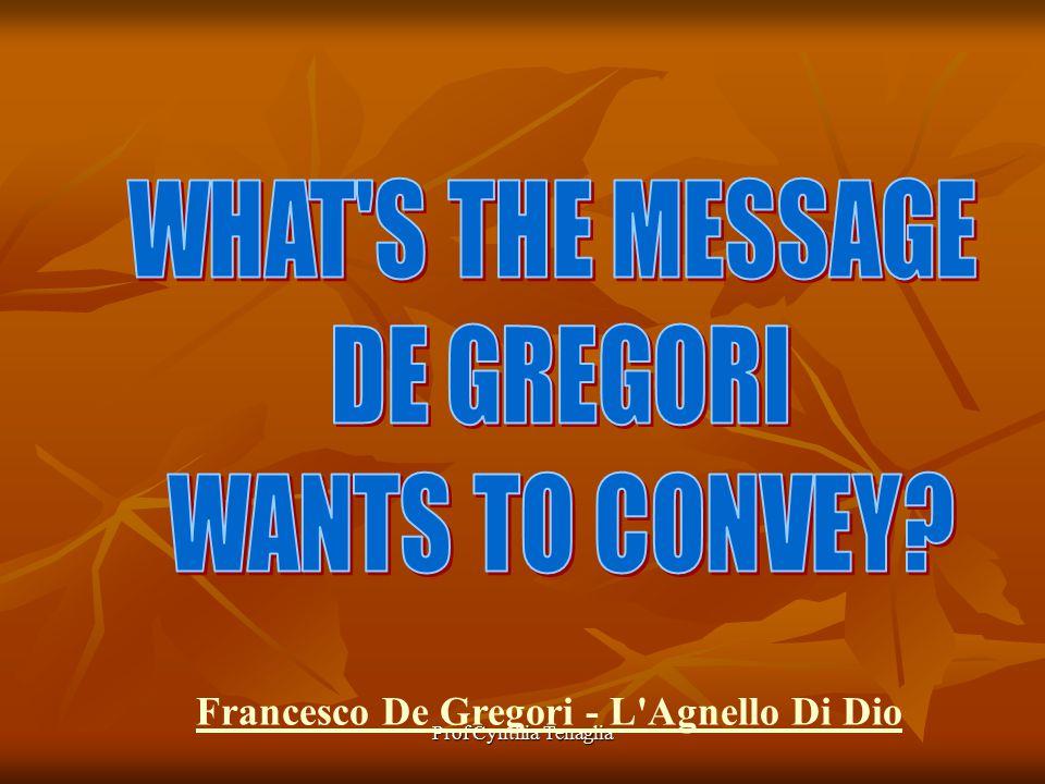 Francesco De Gregori - L'Agnello Di Dio