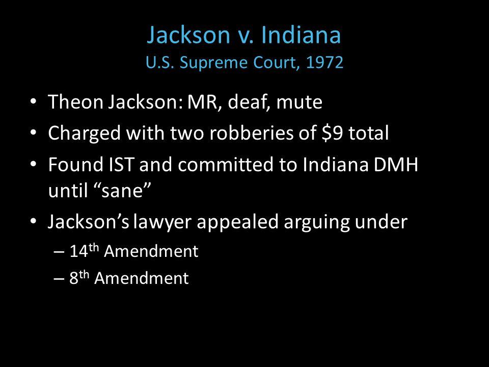 Jackson v. Indiana U.S.