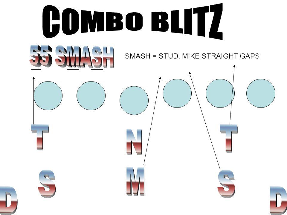 SMASH = STUD, MIKE STRAIGHT GAPS