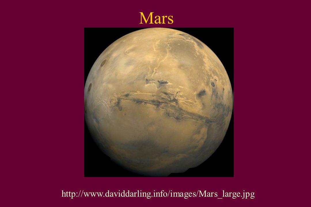 Mars http://www.daviddarling.info/images/Mars_large.jpg