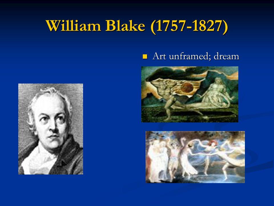 William Blake (1757-1827) Art unframed; dream