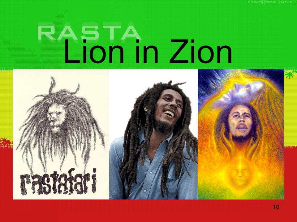10 Lion in Zion