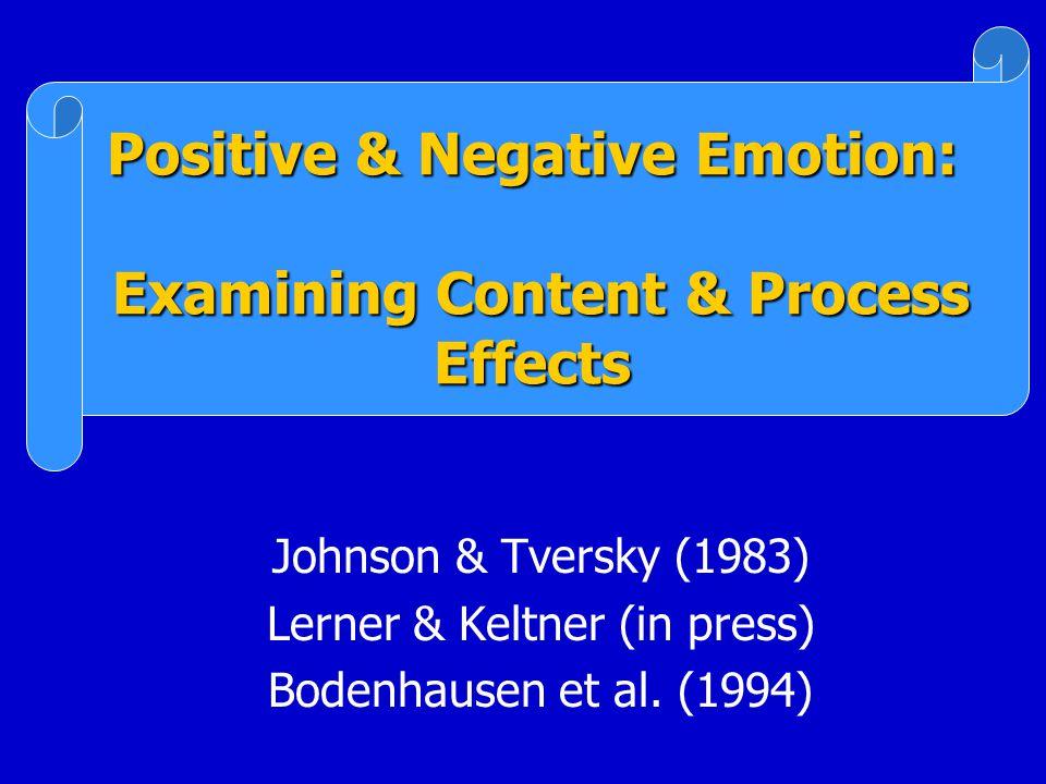 Emotion-tendencies (z-score) Risk-seeking (z-score) 0 Loss Domain -0.5 -0.25 0 0.25 0.5 -11 Anger Fear b =.36* b =.23 *