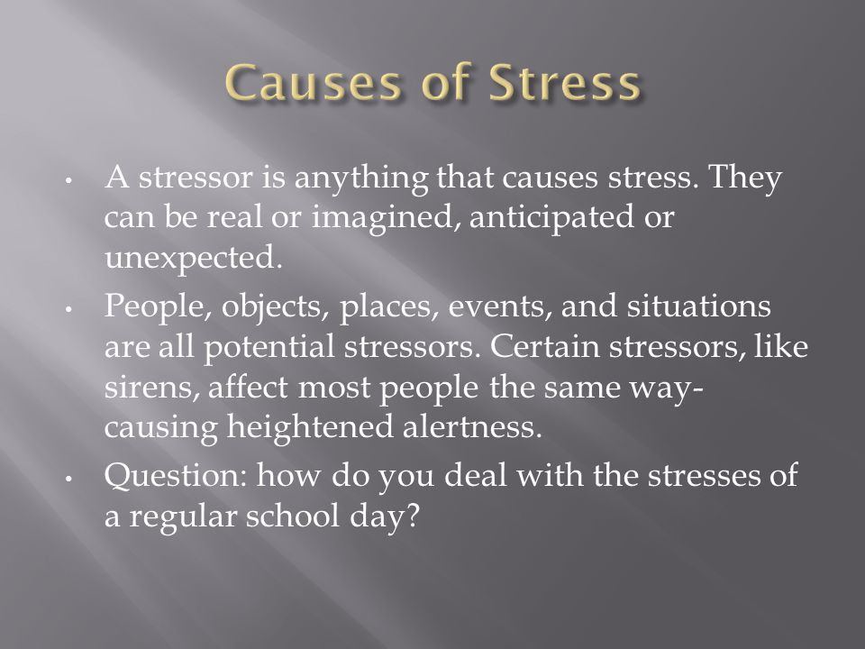 Both your nervous system and endocrine system are active during your body's response to stress.