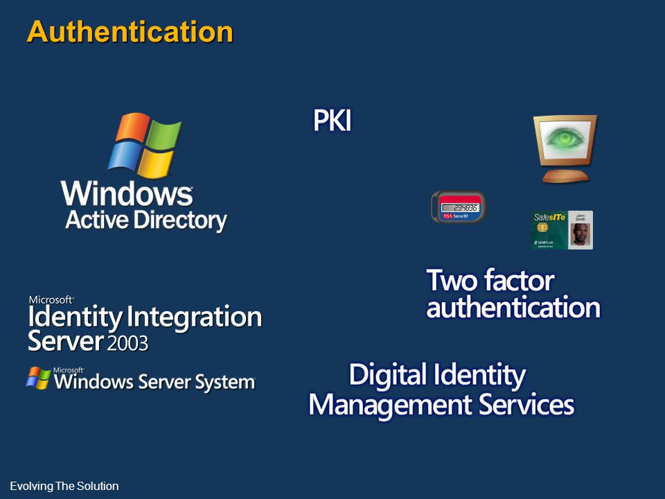 Authentication Evolving The Solution
