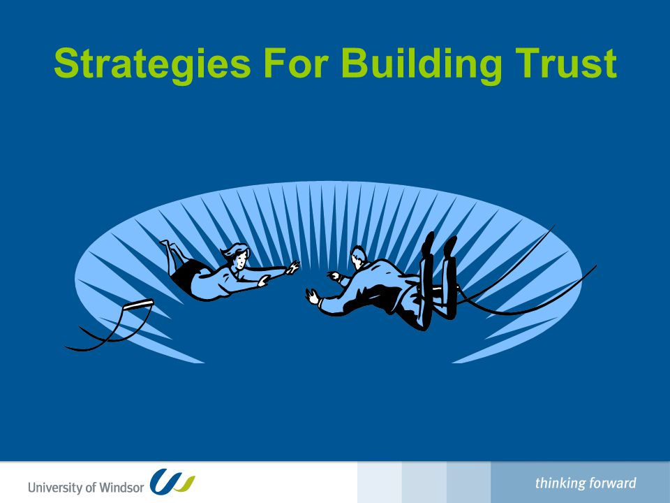 Strategies For Building Trust