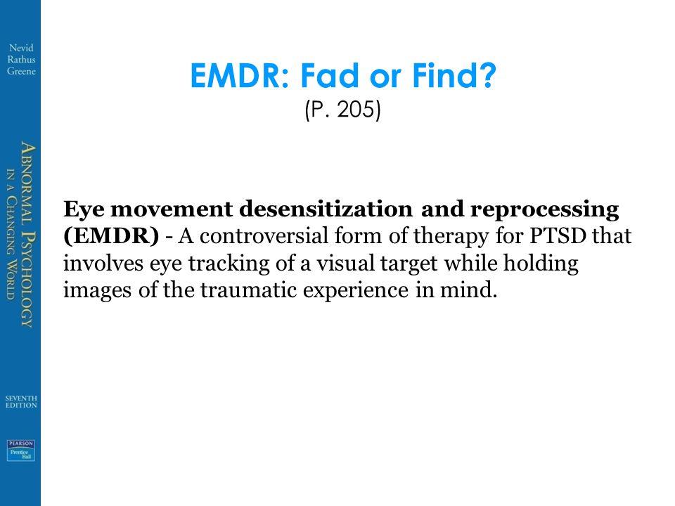 EMDR: Fad or Find. (P.