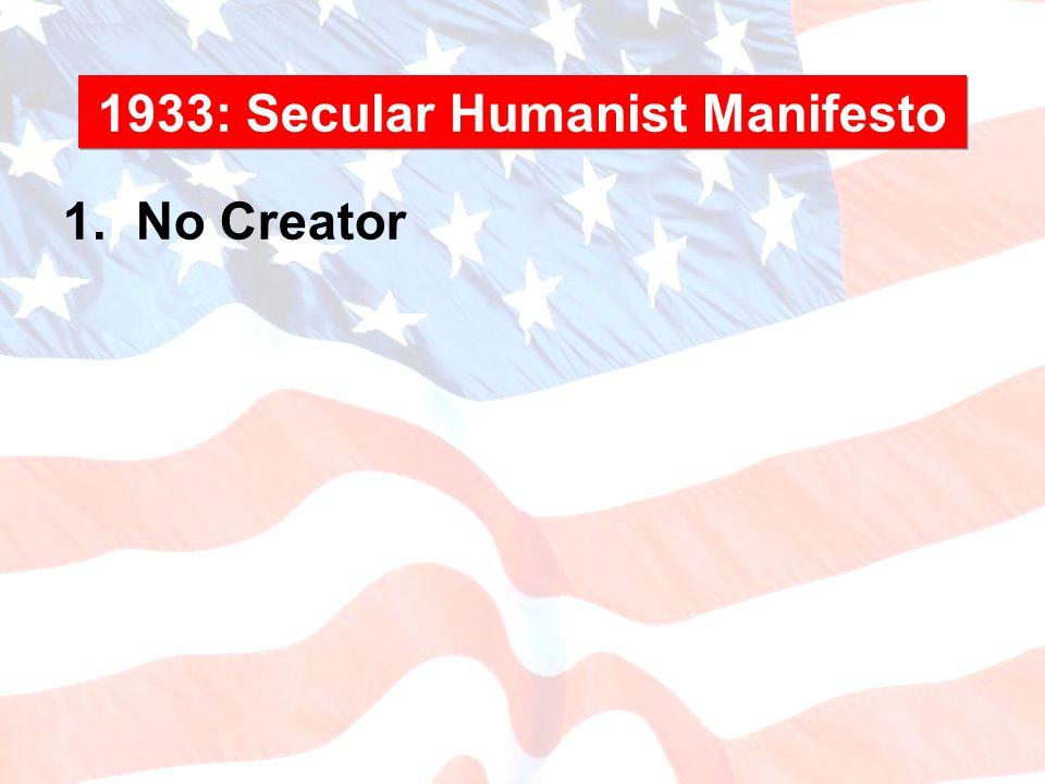 1. No Creator
