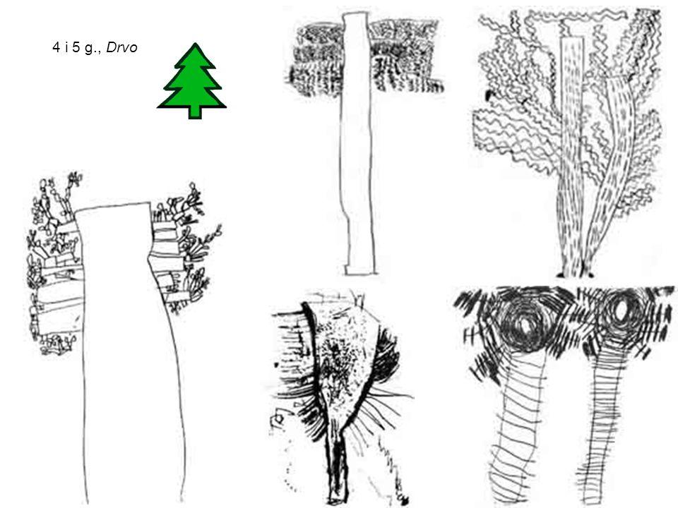 4 i 5 g., Drvo