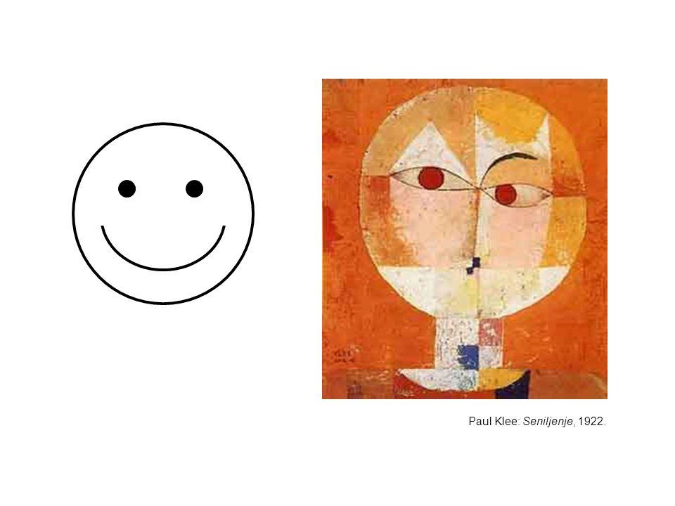 Paul Klee: Seniljenje, 1922.