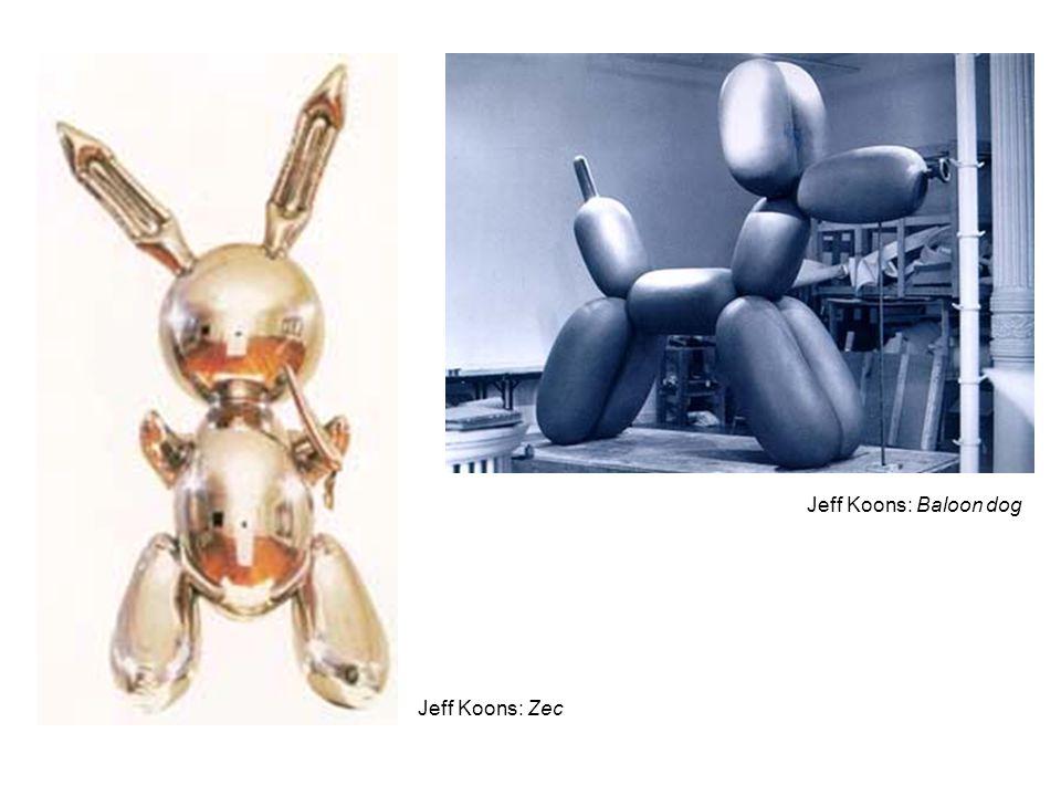 Jeff Koons: Zec Jeff Koons: Baloon dog