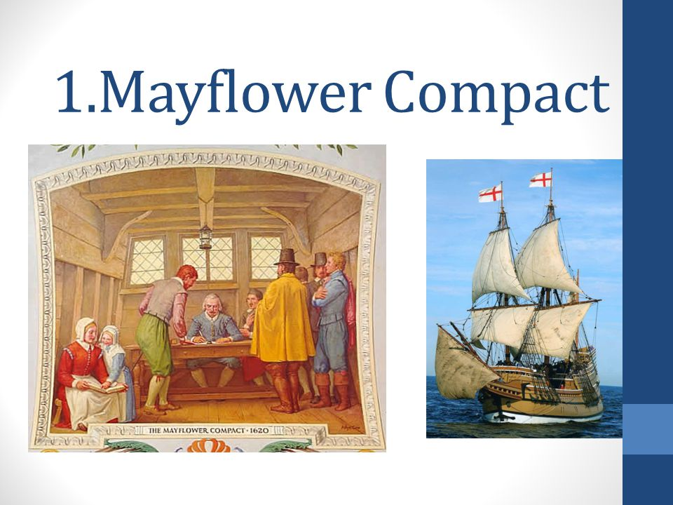 1.Mayflower Compact