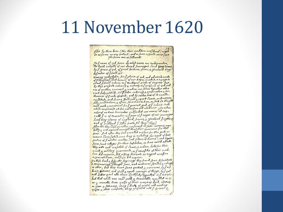 11 November 1620