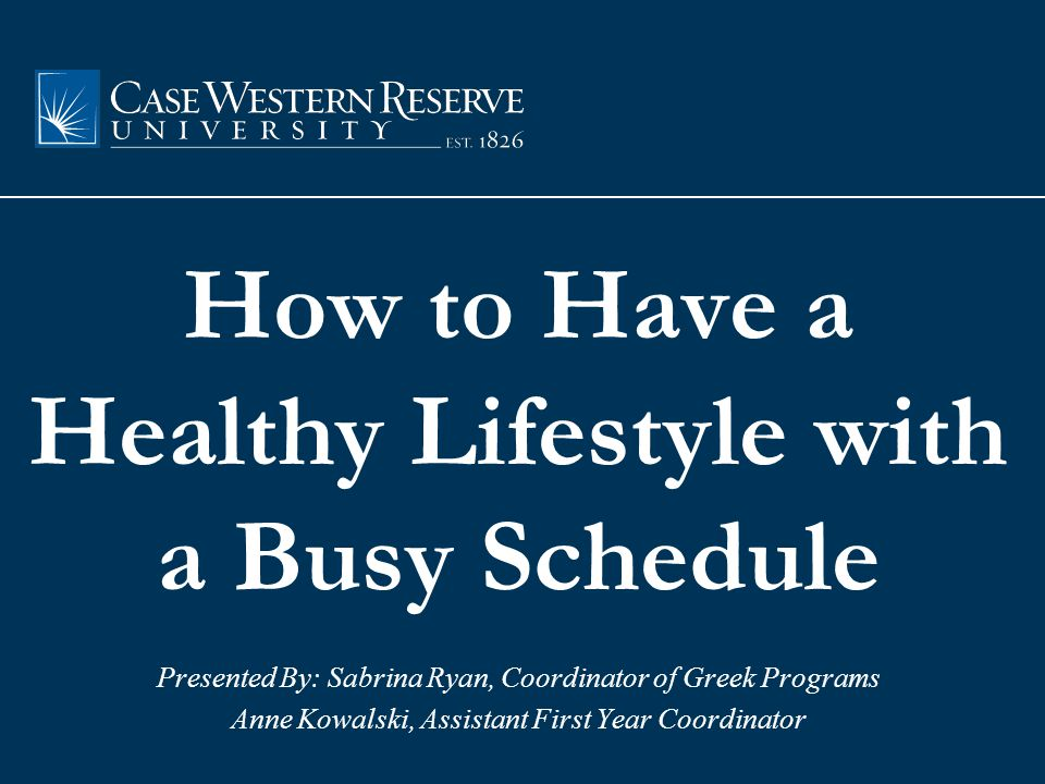 1 st Step in Motivation: Schedule it in.Let's look at your schedule.