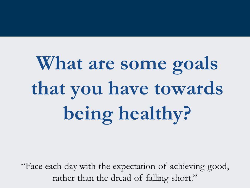 Motivation… Set goals.Get support. Don't give up.
