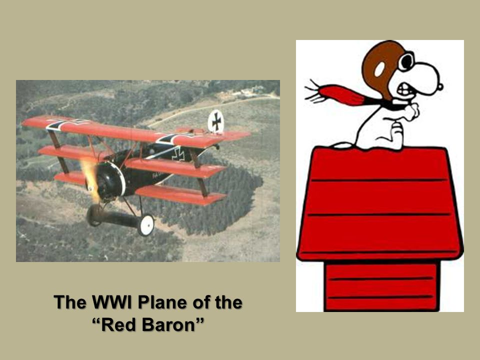 """The WWI Plane of the """"Red Baron"""""""