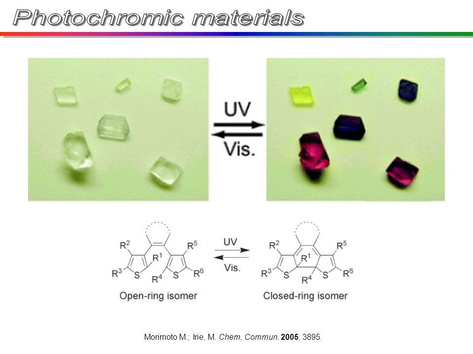 Morimoto M.; Irie, M. Chem. Commun. 2005, 3895.