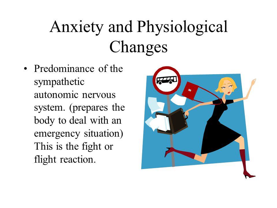 Behavioral Responses Physical tension Tremors Lack of coordination Hyperventilation Startle reaction Restlessness