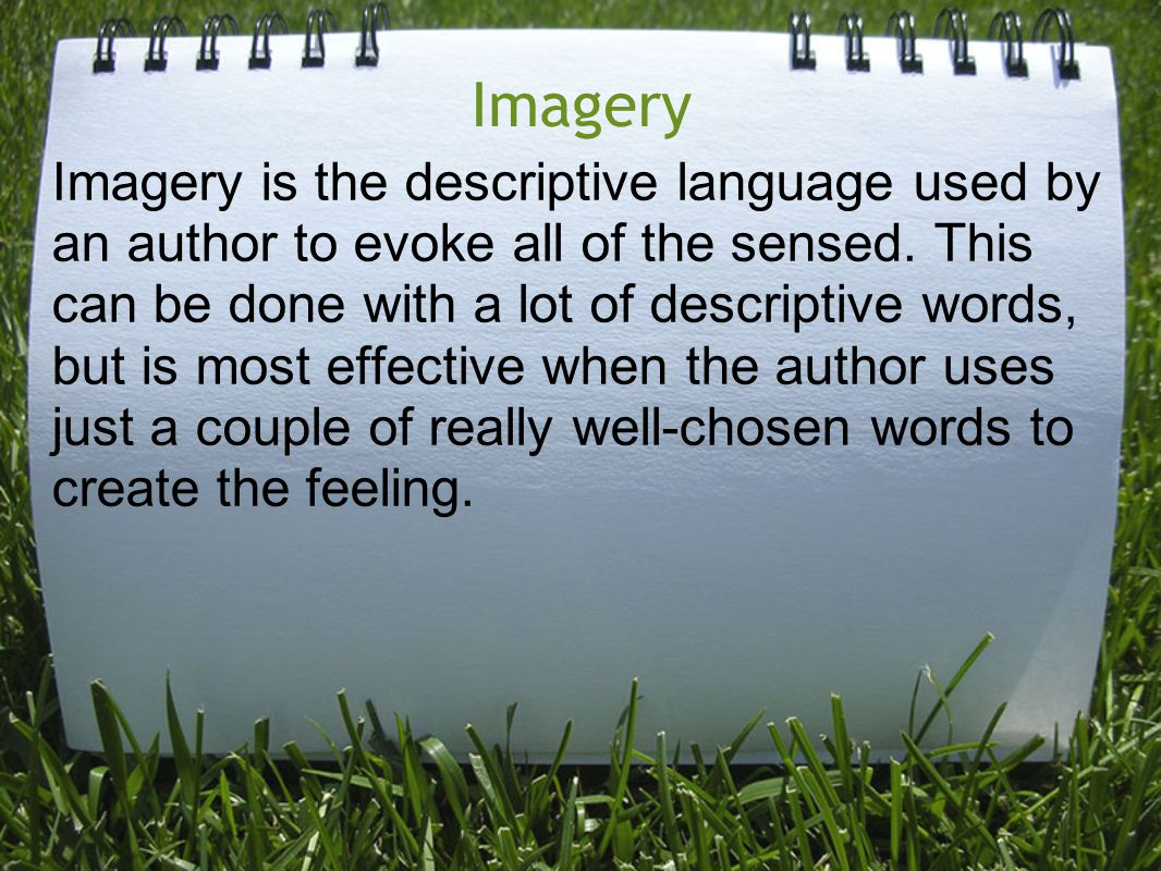Why Use Imagery.
